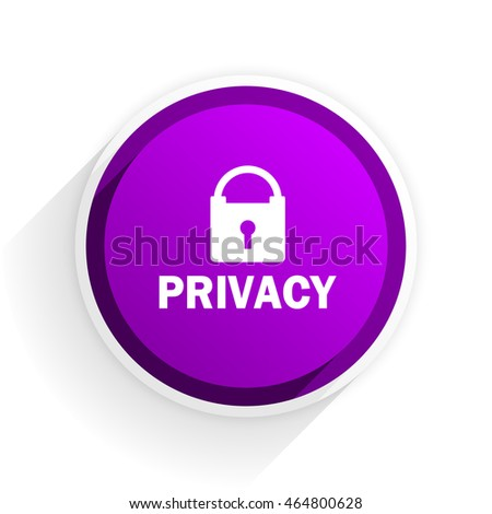 privacy flat icon