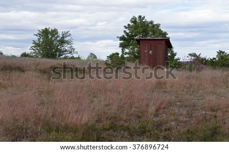 Outhouse Stock Photos Images Amp Pictures Shutterstock