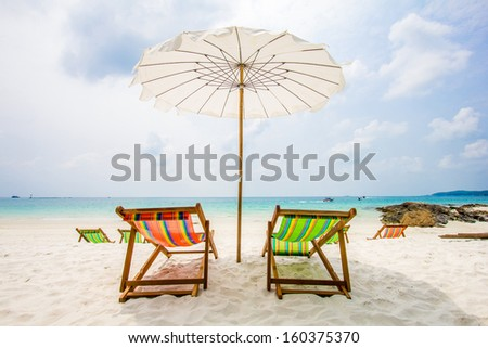 private beach bed