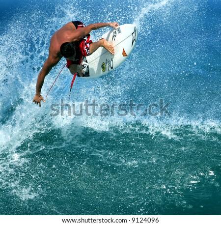 pro surfer Makua Rothman - stock photo