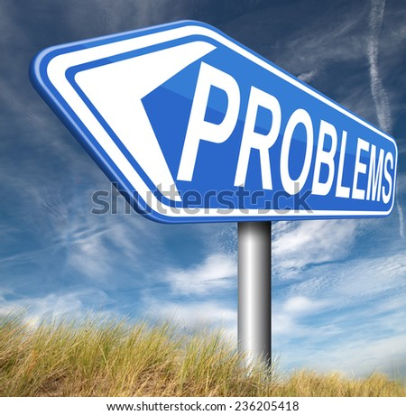problem solved them or causing them find solution and get out of trouble and solve problems  - stock photo