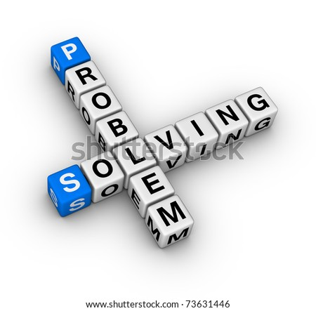 problem solving crossword