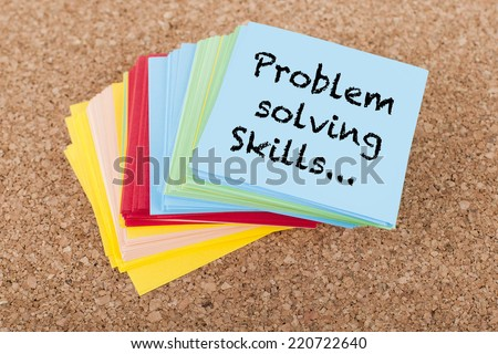 Problem Solving Skills - stock photo