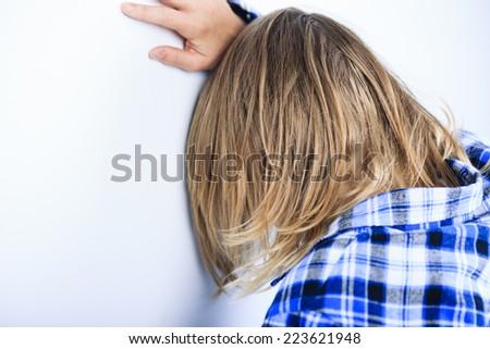 problem teen - stock photo