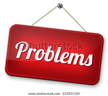 problems solved find solution and get out of trouble and solve problem  - stock photo