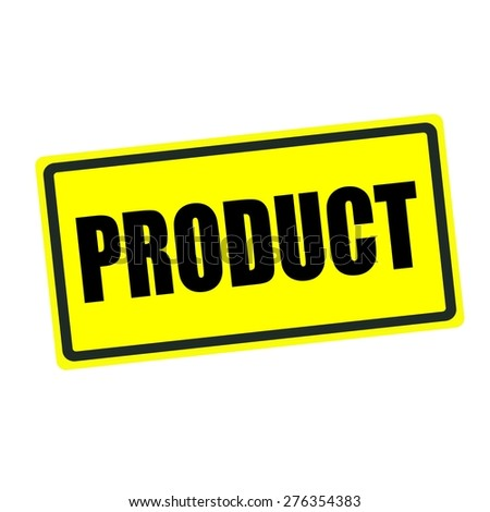 Product  back stamp text on yellow background
