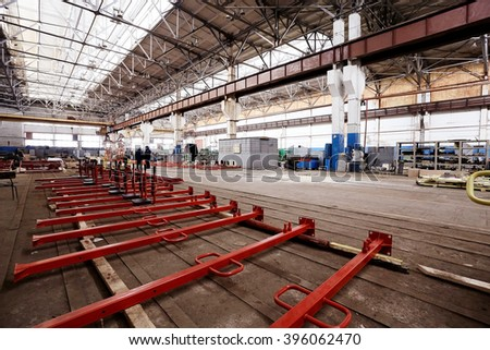 Production of metal structures a