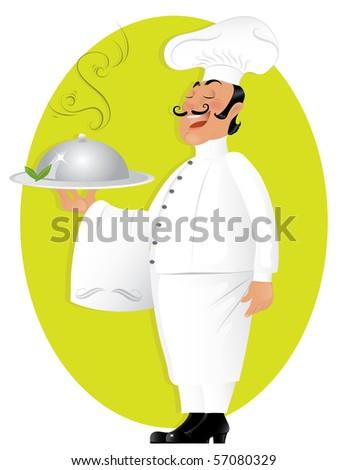 Professional chef (jpeg version) - stock photo