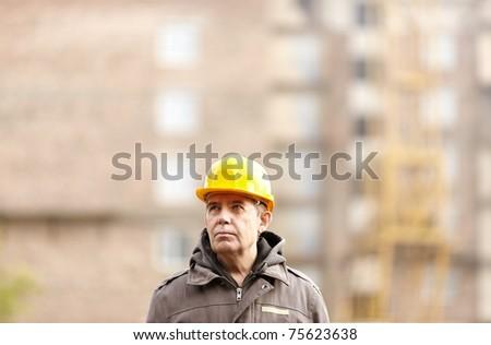 professional construction - stock photo