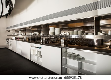 Restaurant Kitchen View kitchen american diner restaurant stock photo 286523951 - shutterstock