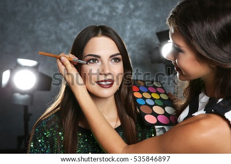 Makeup Artist Stock Images, Royalty-Free Images & Vectors ...