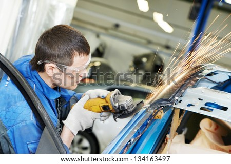 Auto Body Repair Stock Images Royalty Free Images