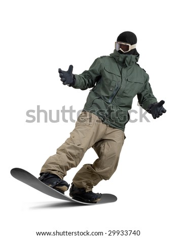 Professional snowboarder
