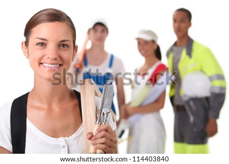 professional training - stock photo