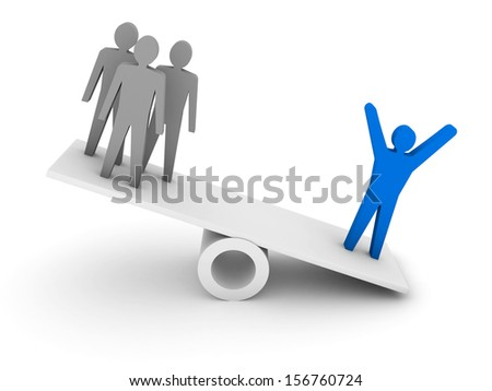 Professionalism, competence metaphor.  Concept 3D illustration. - stock photo