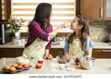 Woman Decorating Cupcakes decorating stock images, royalty-free images & vectors | shutterstock
