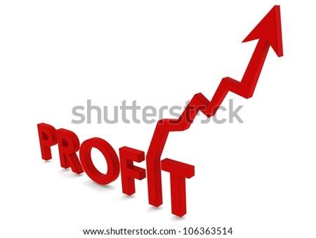 Profit - stock photo