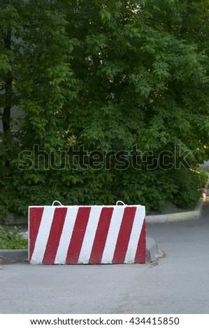 Prohibition sign - stock photo