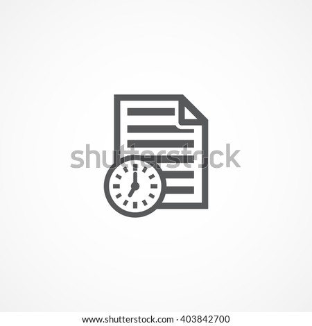 Project icon - stock photo