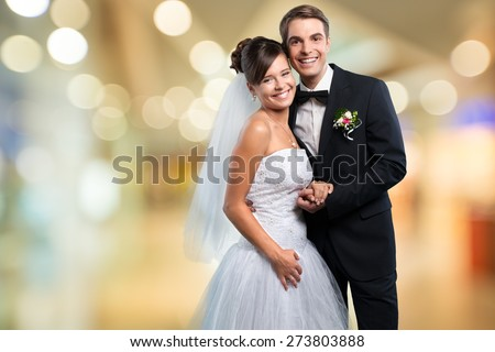 Prom, Couple, Formalwear. - stock photo