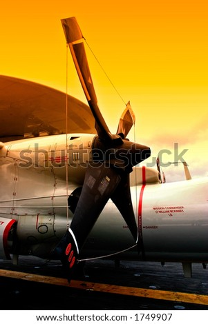Propeller - stock photo