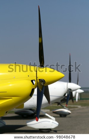 Propellers - stock photo
