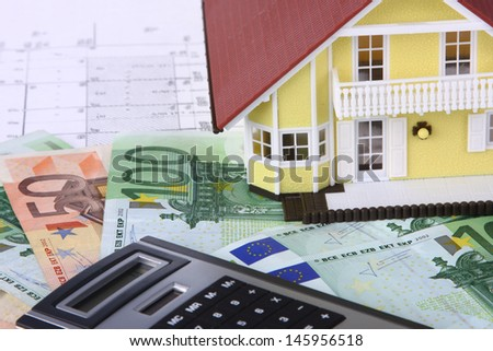 property house - stock photo