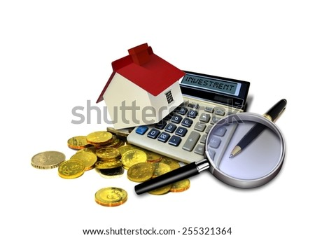 Property investment - stock photo