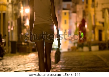 prostitute - stock photo