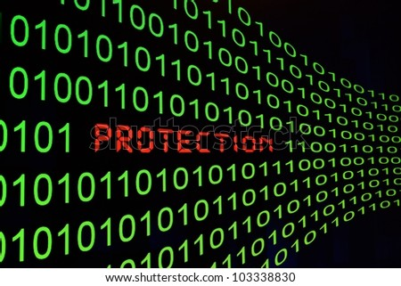 Protection - stock photo