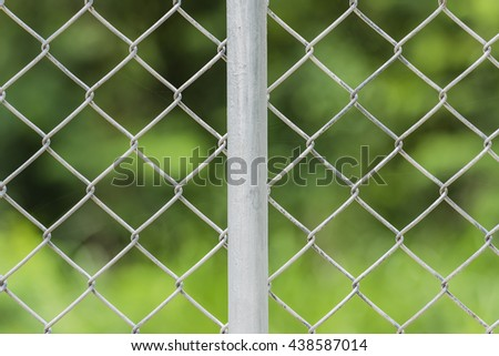 protection netting ,woven wire mesh    - stock photo