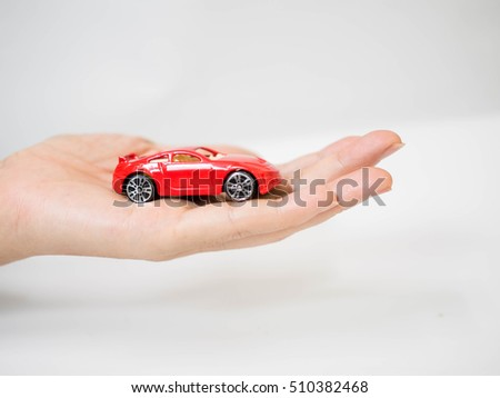 Protection of car. Business concept. car insurance concept