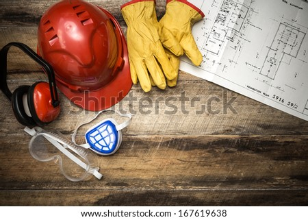 Protective clothing with plans