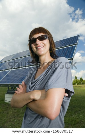 proud look at the photovoltaics
