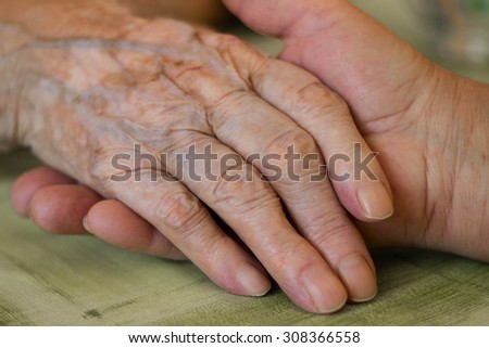 Providing a helping hand  - stock photo