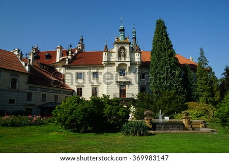 Pruhonice Castle is a historic building near Prague