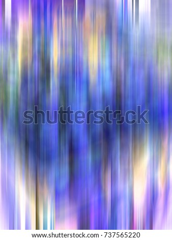 Psychedelic blurred waving background