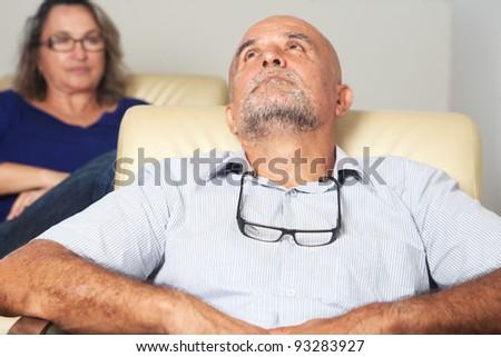 psychoanalysis - stock photo