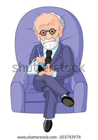 psychotherapy session - stock photo