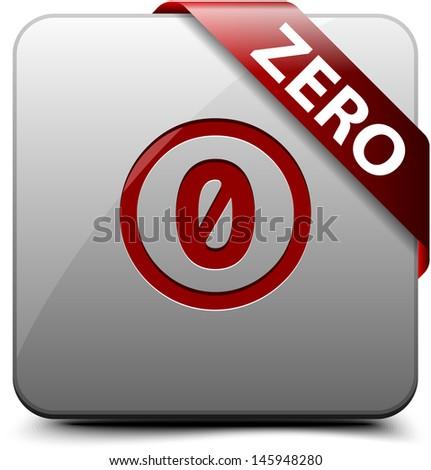 Public Domain button - stock photo