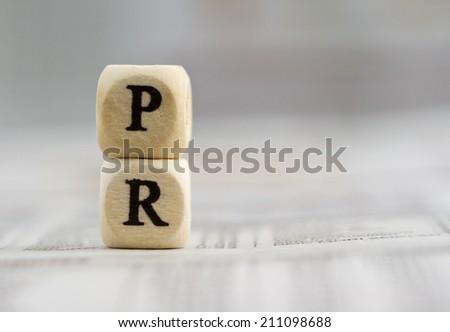 Public relation - stock photo