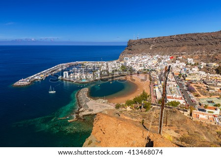 Puerto rico ith amazing scape on stock photo 100481875 shutterstock - Taxi puerto rico gran canaria ...