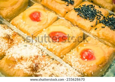puff pastries - stock photo