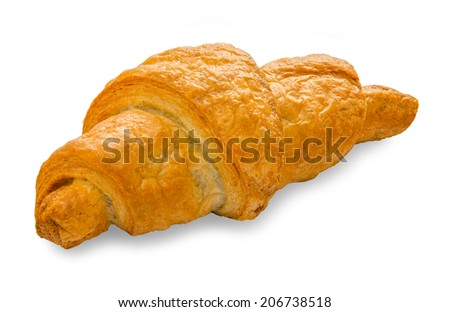 puff pastry. croissant