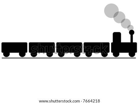 puffing billy train - stock photo