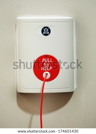 pull for help - stock photo