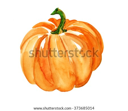 watercolor pumpkin stock images, royalty-free images & vectors