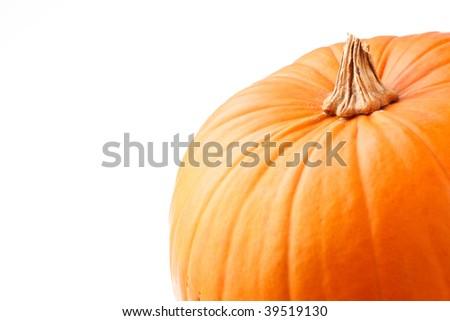 pumpkin close up - stock photo