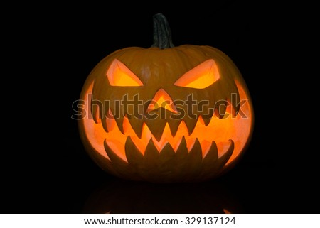 pumpkin for All Saints' Day