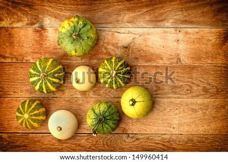 Pumpkin (guard, squash) - stock photo